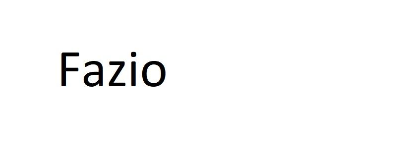 FAZIO L'ARTISTA DEL TAMBURO